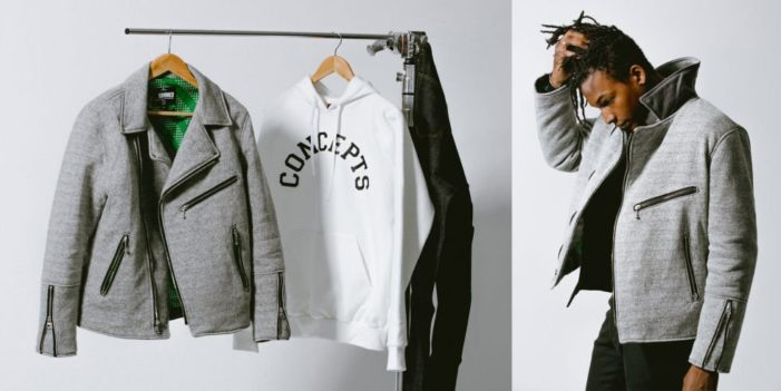 Heineken & Boston's Concepts Debut Motorcycle Jacket for #heineken100