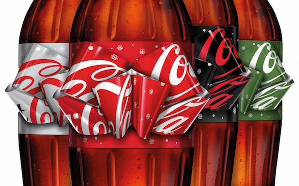 Coca-Cola Unveils Limited Edition Bottle Label That Turns Into A Festive Bow