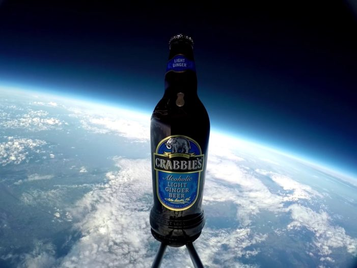 Crabbie's Light Beats Major Tim Peake to Become First Ginger in Space