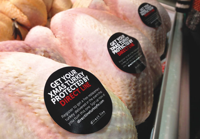 Direct Line Insurance Offers Free Turkey Protection For Christmas