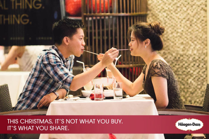 GOVT Singapore & Häagen-Dazs Share Real Moments For Christmas
