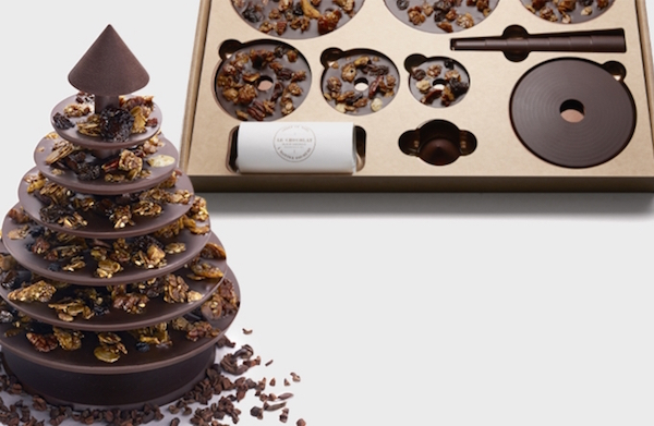 Le Chocolat Unveils Flat-Packed Chocolate Tree that You Can Enjoy this Christmas