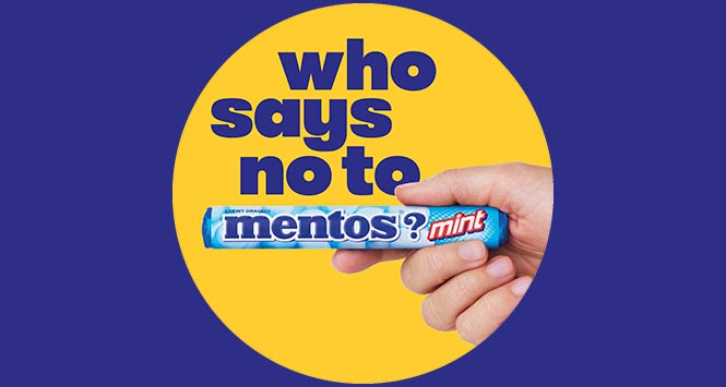 Shoppers in Manchester Ask 'Who Says No To Mentos?'