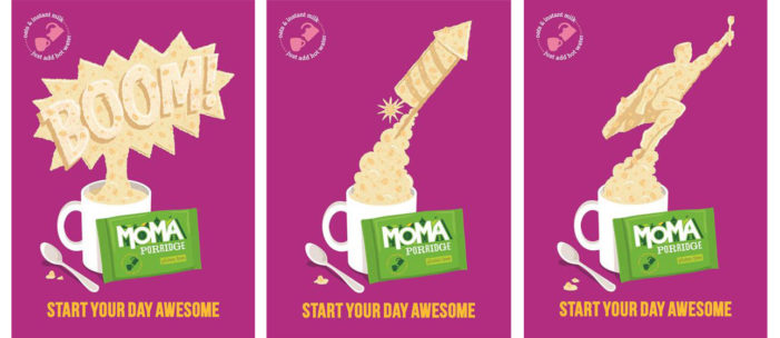 Moma Launches Campaign For Gluten Free Porridge