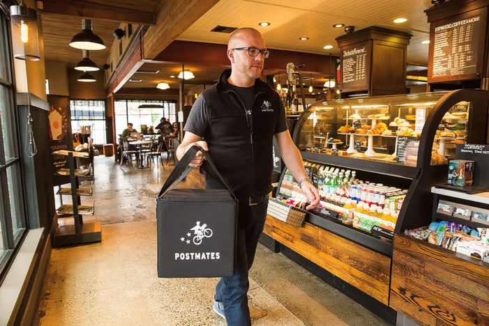 Starbucks Delivery by Postmates Begins Service in Seattle