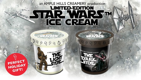 Countdown to 'Star Wars: The Force Awakens' with Limited Edition Ice Cream