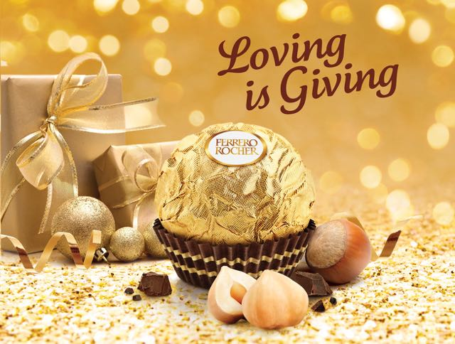 Christmas is a Time for Giving in New POS Work for Ferrero Rocher