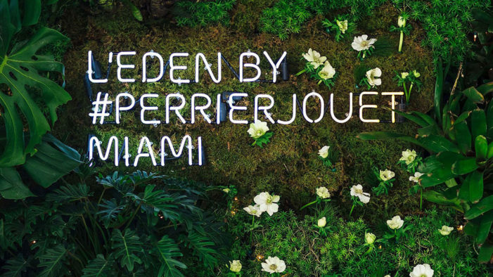 Perrier-Jouët Celebrates Creative Effervessence of Design Miami/2015