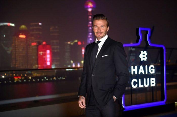 David Beckham Welcomes Guests to Haig Club Shanghai