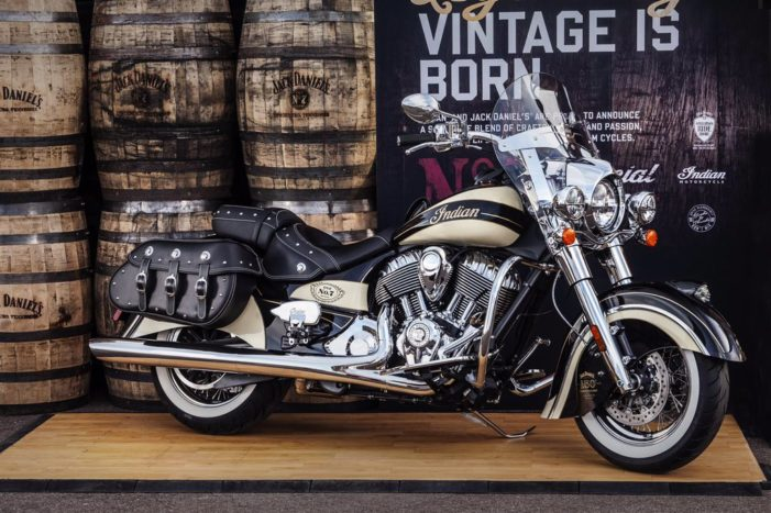Indian Motorcycle & Jack Daniel's Launch Iconic Limited Edition Bike