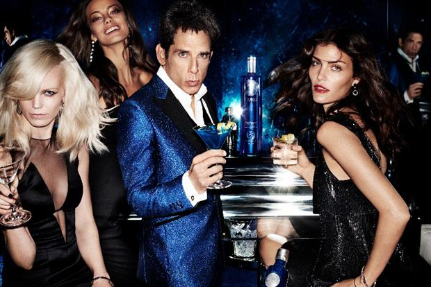 Diageo's Ciroc Channels Zoolander's 'Blue Steel' For Limited Edition Bottle