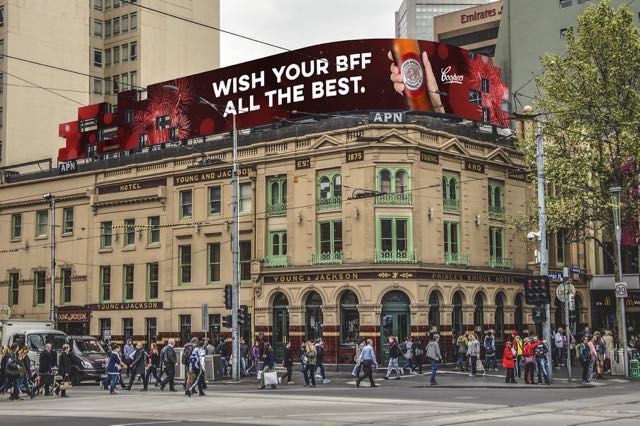 Coopers Give New Year's Revellers a Shout Out in OOH Campaign