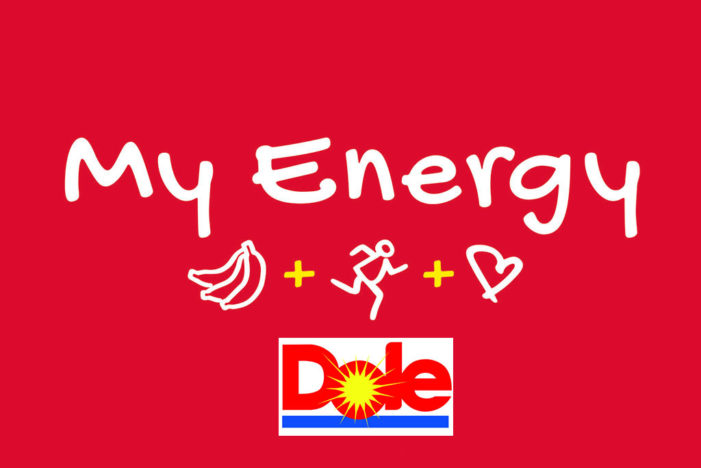 "Dole Inspires a Healthy Lifestyle with its ""My Energy"" Push"