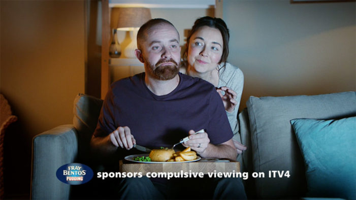 Fray Bentos Sponsors ITV4 in New Campaign from Hometown