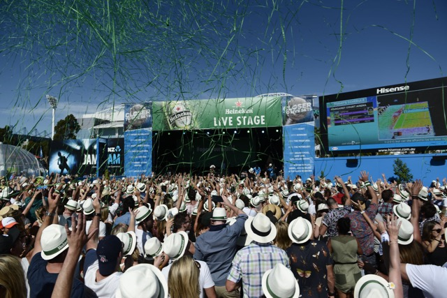 Heineken Celebrates 20th Anniversary of its Tie-up with The Australian Open
