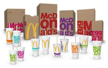 McDonald's Unveils Refreshingly Bold Packaging Design For 2016