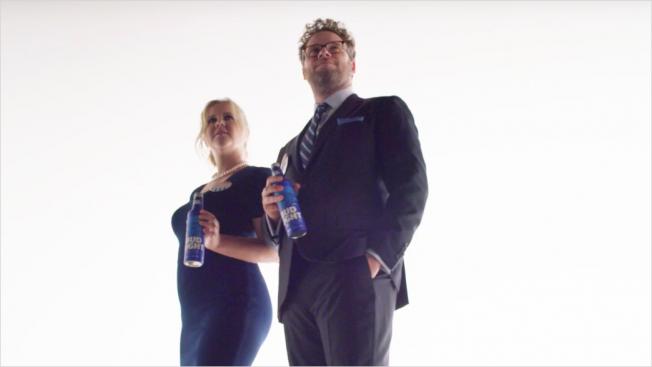 Bud Light Unveil Super Bowl Ad Starring Amy Schumer & Seth Rogen