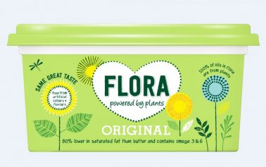 Flora Launches £12.5m 'Powered by Plants' Rebrand