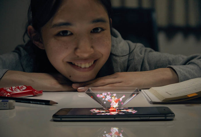 JWT Japan & KitKat Offer Digital Cheer to Hard Working Students