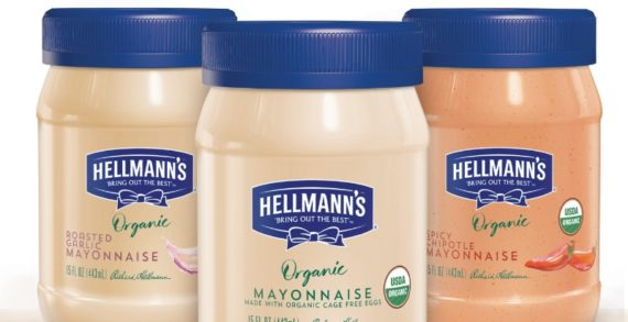 Hellmann's Offer Even More Choices with New Organic & Eggless Products