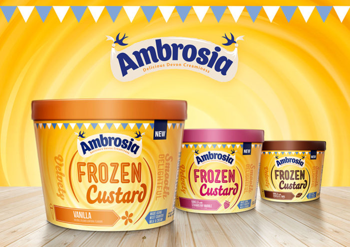 Coley Porter Bell Designs Brand Concept for Ambrosia's New Frozen Range