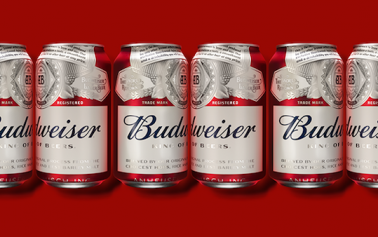 Budweiser's New Packaging Ditches Bowtie to Revisit Classic Identity