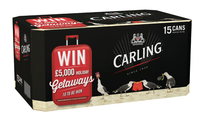 Carling Launches £5,000 Holiday Getaway Promotion