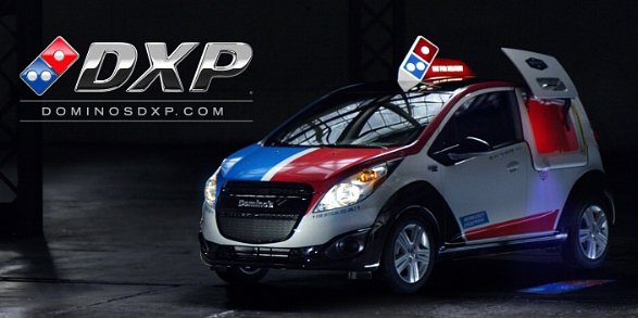 Dominos Unveil New Ads for DXP Delivery Car Launch in the US