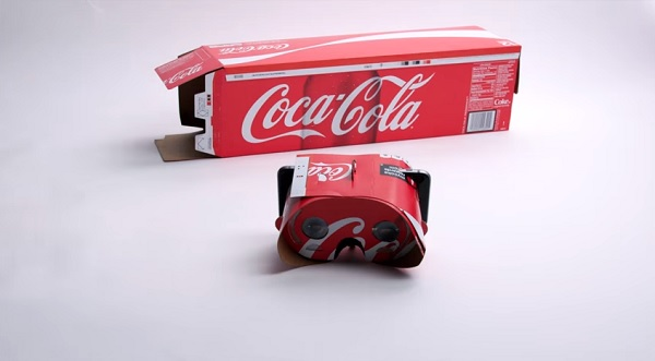 Coca-Cola Packaging Transforms Into Cool Smartphone VR Viewers