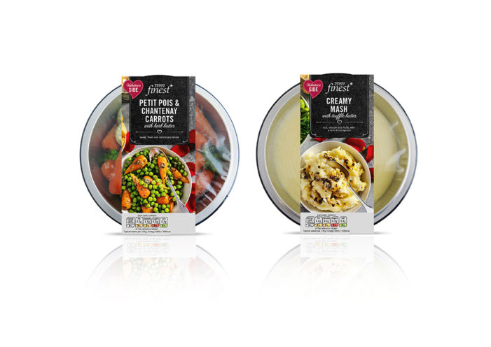 Tesco Finest Launch Valentine's Day Meal Shot by Parker Williams