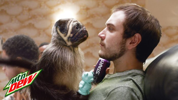 Mtn Dew is Deliciously Bizarre with Super Bowl #puppymonkeybaby Ad