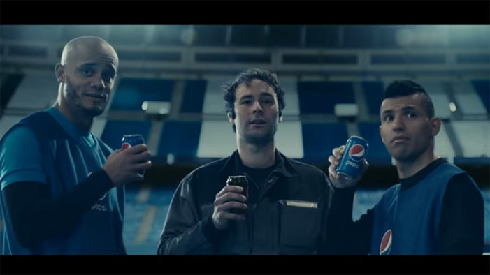 2016's Pepsi Football Roster Introduces #BlueCard to the Global Game