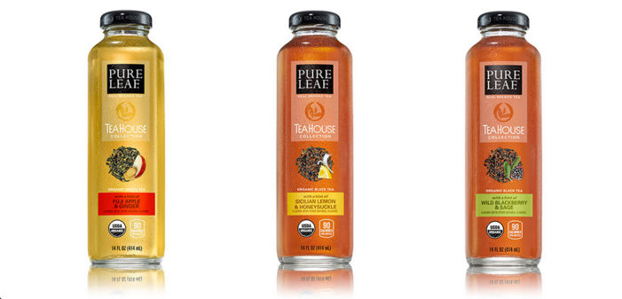 Pure Leaf Launches New Organic and Unsweetened Iced Teas