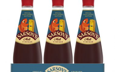 Sarson's Goes Retro in Limited Edition Vinegar Bottle by Parker Williams