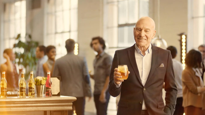 Strongbow Hard Apple Ciders Teams with Sir Patrick Stewart Again