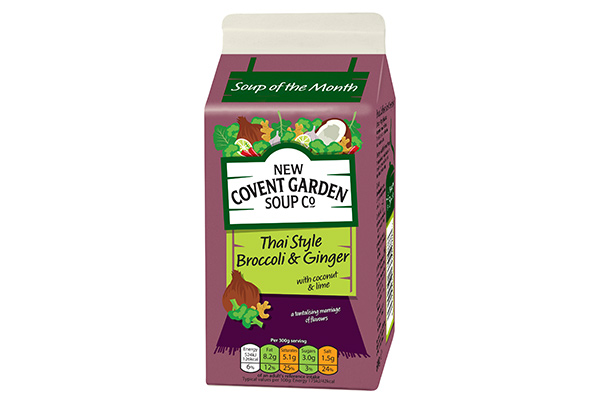 New Covent Garden Soup Co. Launches Limited-Edition Thai Style Soup