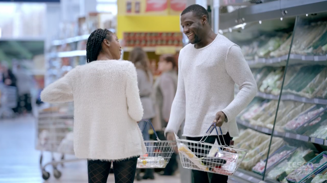 Tesco Plays Matchmaker for Valentine's Day With 'Basket Dating'