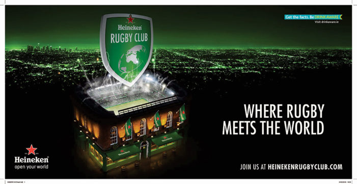 Rothco Opens the Digital Doors of the Heineken Rugby Club…
