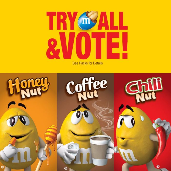 M&M's Invites America to Vote for the Newest Peanut Flavour