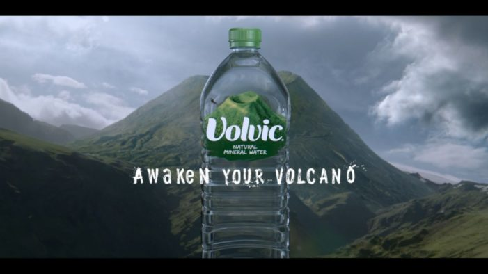 Volvic partners with channel 4 for first ever TV ad campaign