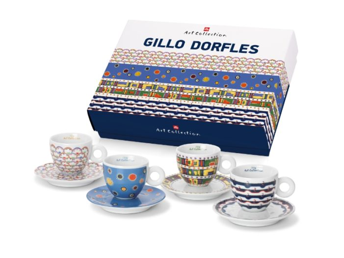 Fabric Designs Inspire Gillo Dorfles Illy Art Collection