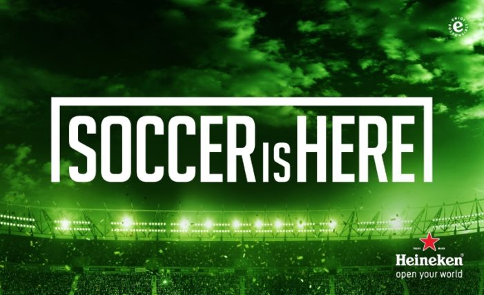 "Heineken Proves ""Soccer Is Here"" with New US Campaign"