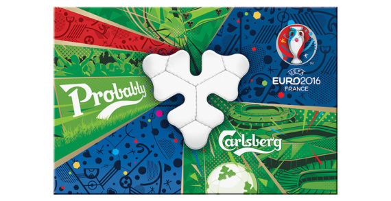 Taxi Studio Designs Champion Carlsberg Pack For UEFA EURO 2016