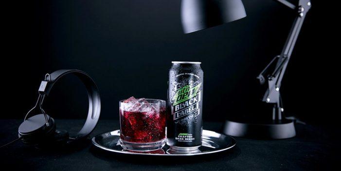 Mtn Dew Black Label Brings a Deeper Darker Dew to the USA