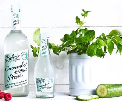 Belvoir Fruit Farms Launches New Cucumber & Mint Pressé