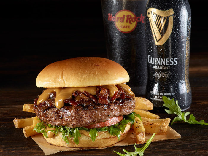Hard Rock Welcomes St. Patrick's Day with New Burger & Beer Pairing