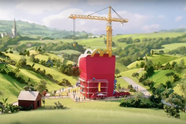 Leo Burnett London Creates Miniature World for McDonald's Happy Meals