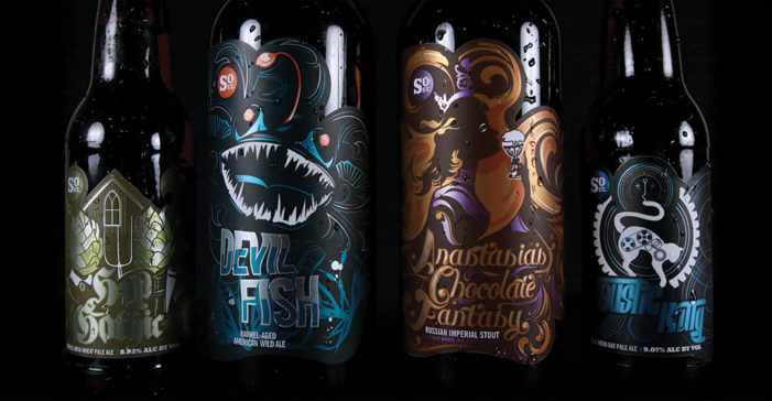 South Street Brewery Unveils New Labels for their 'Barstools & Dreamers' Line