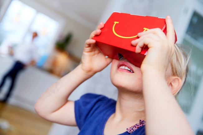 McDonald's Now Making Happy Meal Boxes That Turn Into VR Headsets