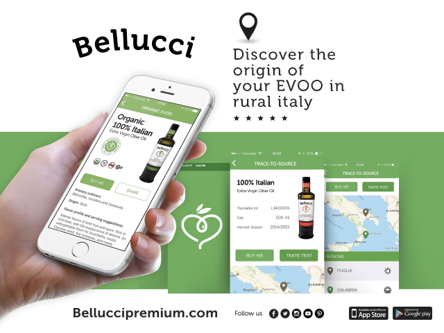 Bellucci Olive Oil Brings Trace-to-Source Technology to Consumers